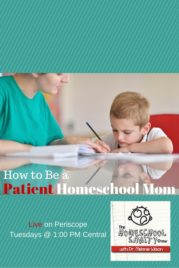 How to Be a Patient Homeschool Mom - Podcast with free patience Scriptures printable