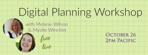Digital Planning Webinar