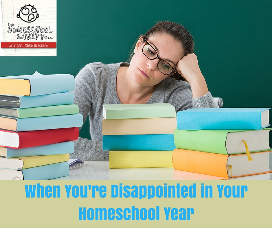 When You're Disappointed in Your Homeschool Year: The Homeschool Sanity Show