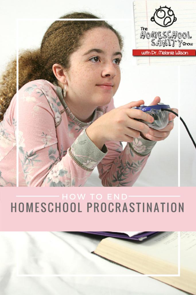 homeschool procrastination podcast