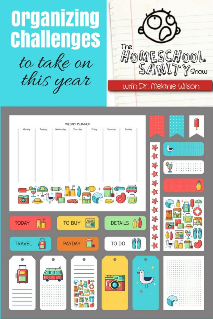 Homeschool Organizing Challenges You Should Take On This Year podcast
