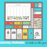 Homeschool Organizing Challenges You Should Complete This Year