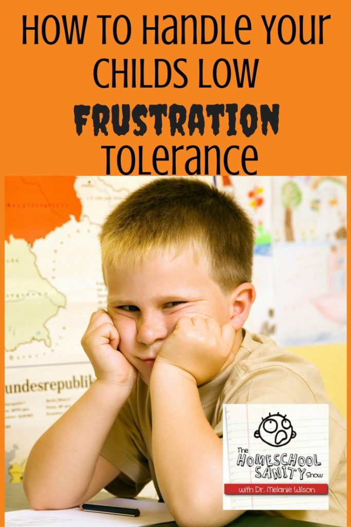 Low Frustration Tolerance podcast