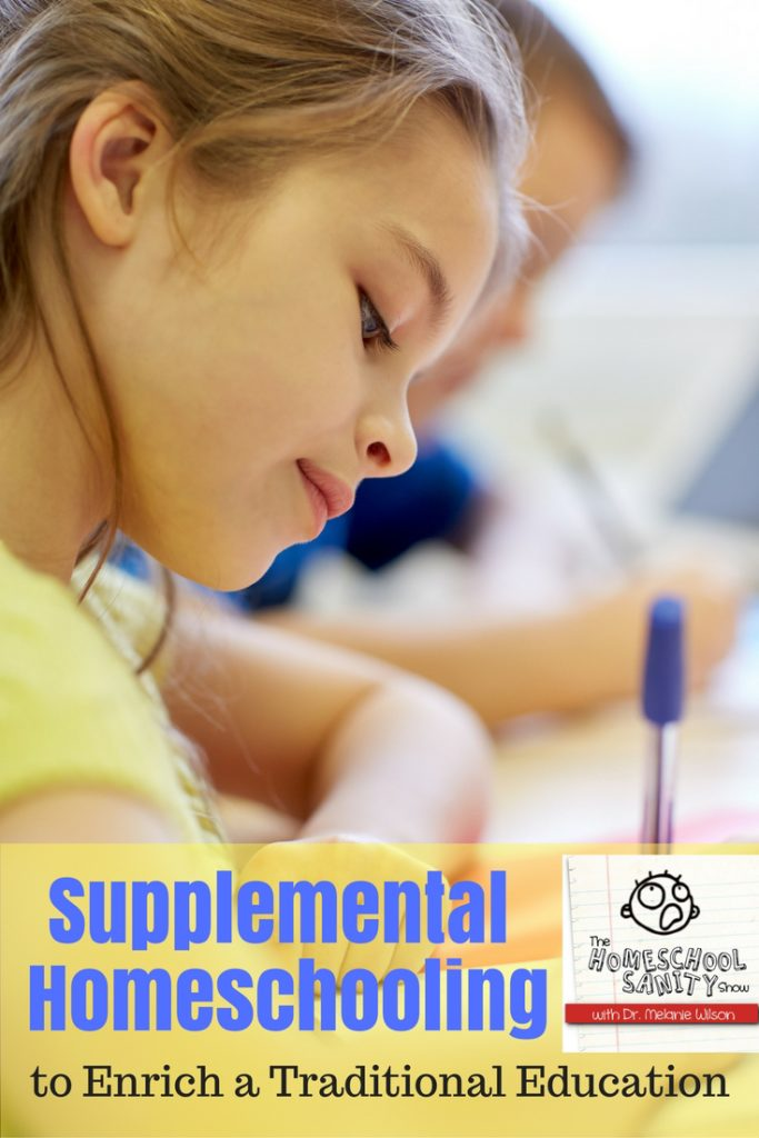Supplemental Homeschooling: How to Enrich a Public or Private School Education - podcast