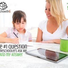 The Top Question Homeschoolers Ask Me & My Answer