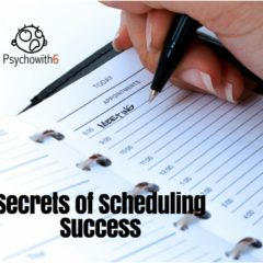 Scheduling Success Secrets