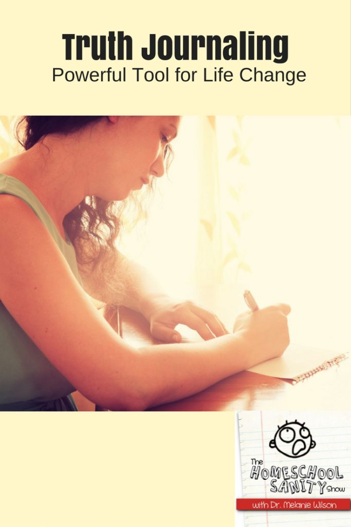 Truth Journaling: Powerful tool for life change podcast
