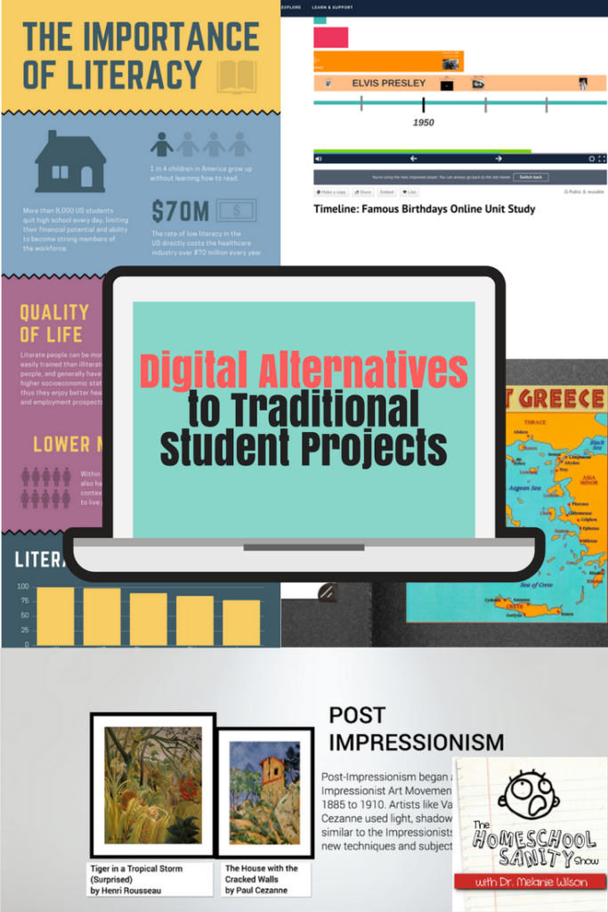 Digital Alternatives to Traditional Student Projects podcast