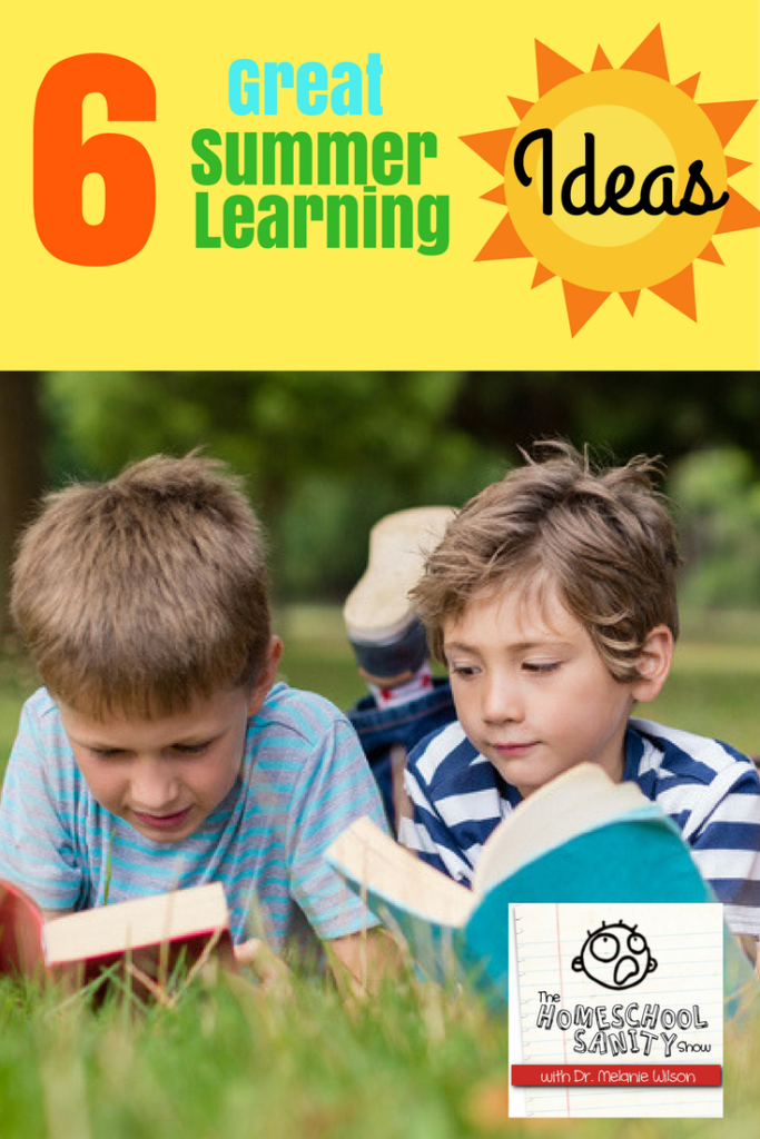 6 Great Summer Learning Ideas podcast