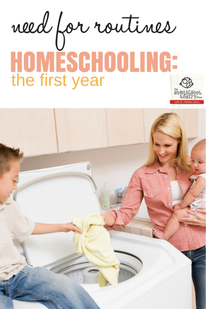 Need for Routines: Homeschooling, the First Year podcast