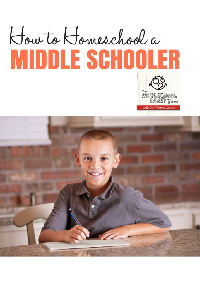 How to a Homeschool a Middle Schooler #homeschooling #middleschool #podcast