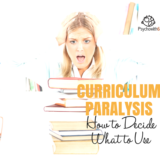 Curriculum Paralysis: How to Decide What to Use This Year