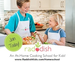Raddish cooking school for kids