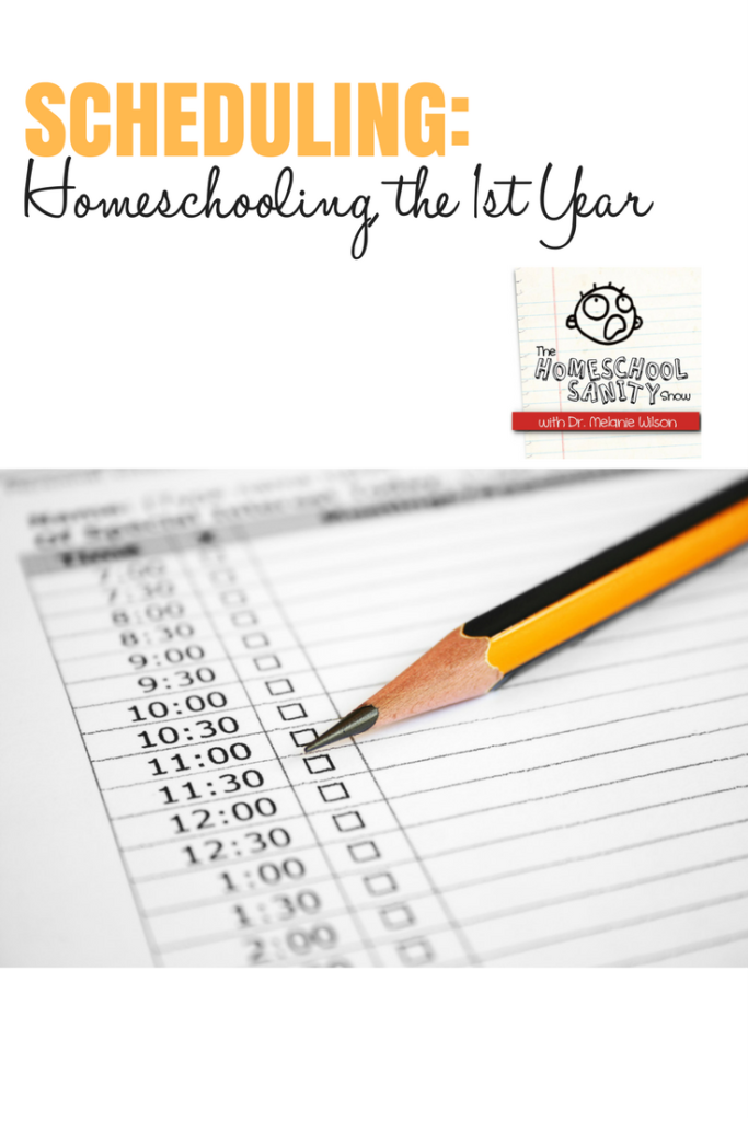 Scheduling the first year of homeschooling #homeschooling #scheduling #Podcast