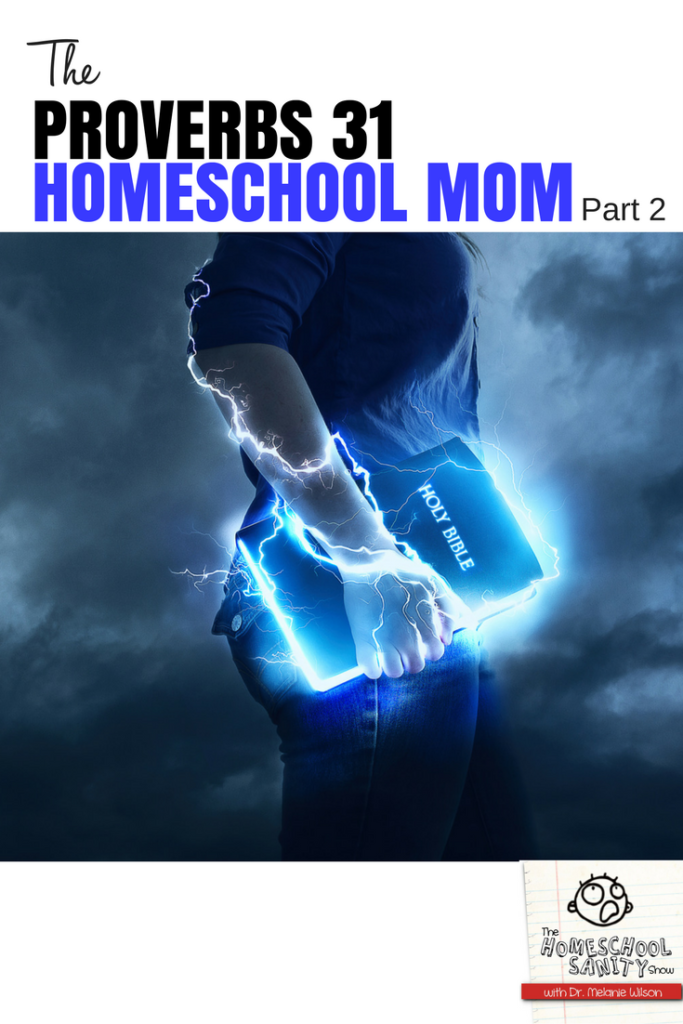 The Proverbs 31 Homeschool Mom, Part 2
