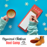 Organized Christmas Boot Camp